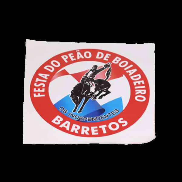 ADESIVO FUNDO AZUL FESTA DO PEÃO DE BARRETOS