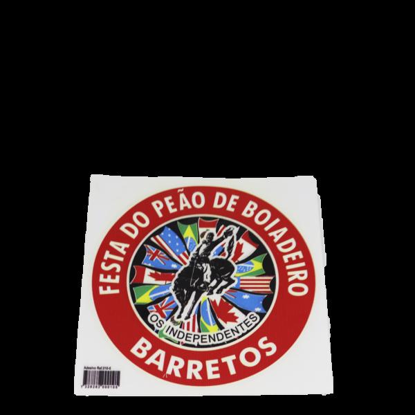 ADESIVO NAÇÕES FESTA DO PEÃO DE BARRETOS
