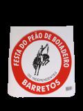 ADESIVO OFICIAL FESTA DO PEÃO DE BARRETOS