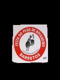ADESIVO TRADICIONAL ROSETA FESTA DO PEÃO DE BARRETOS